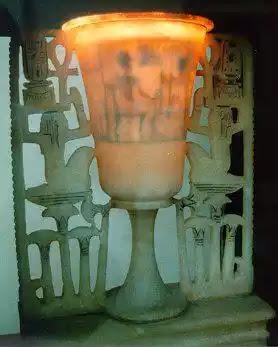Tutankhamun Lamp