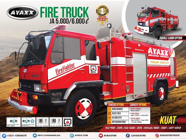 karoseri mobil pemadam kebakaran