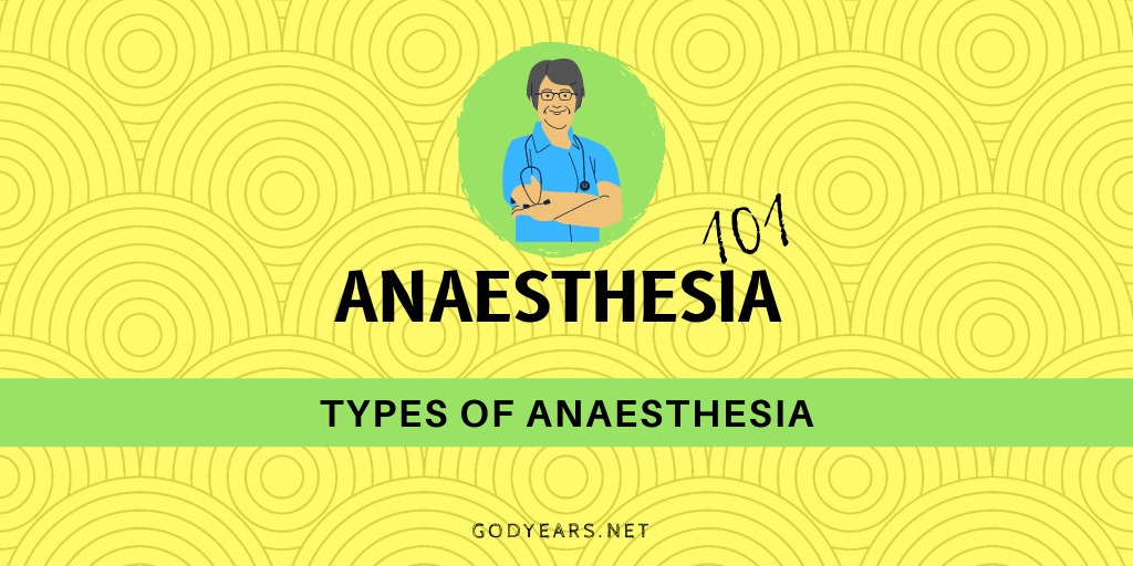 What are the Types of Anaesthesia