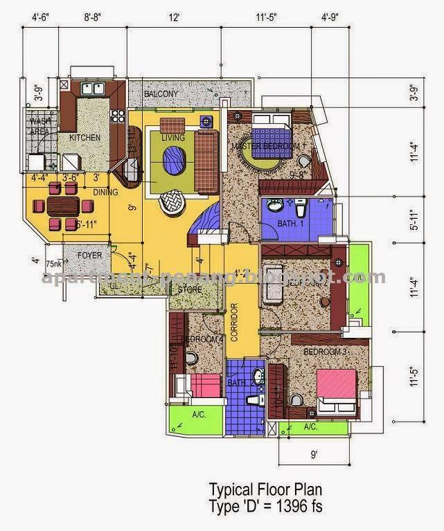 Palladium Apartments: Apartment-Penang.com