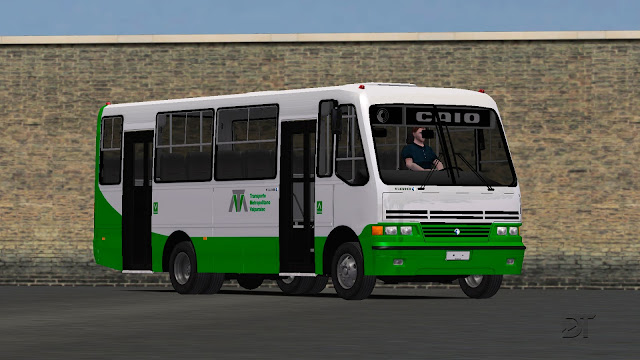 OMSI 2 - Micro-ônibus Caio Carolina V MB LO-814
