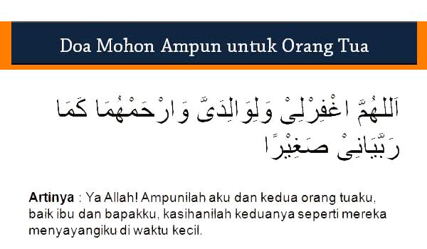 Doa Untuk Orang Tua Yang Sudah Meninggal Sesuai Sunnah Rasulullah SAW