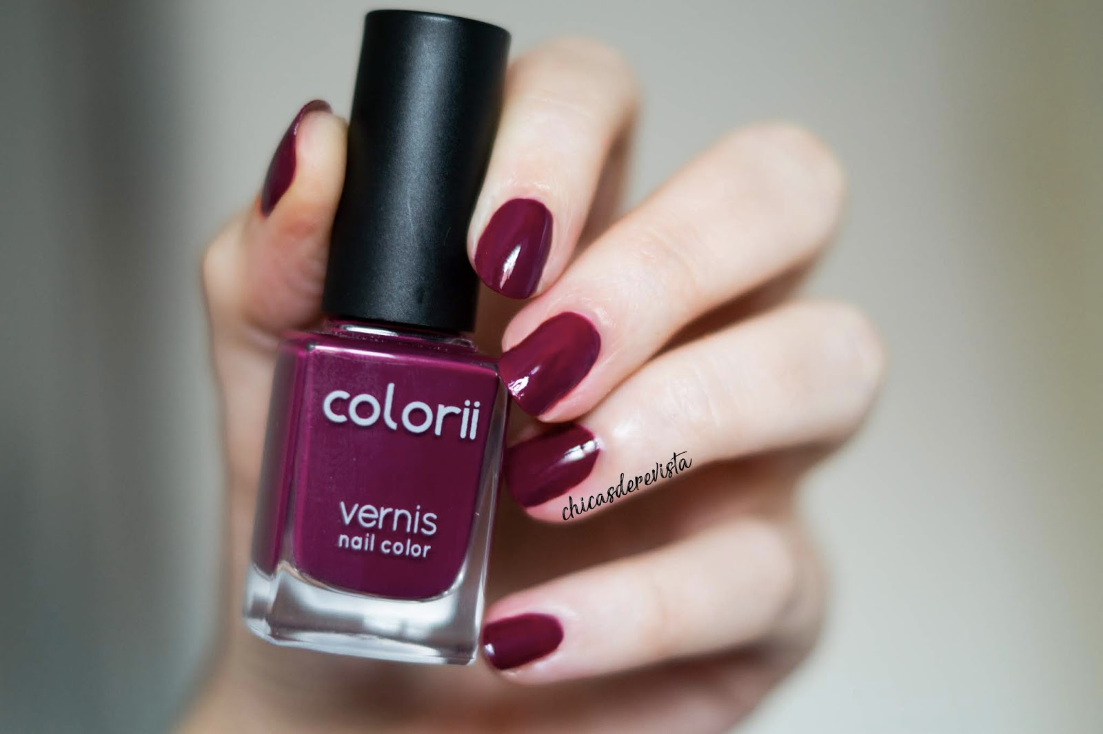 vernis Colorii Bordeaux