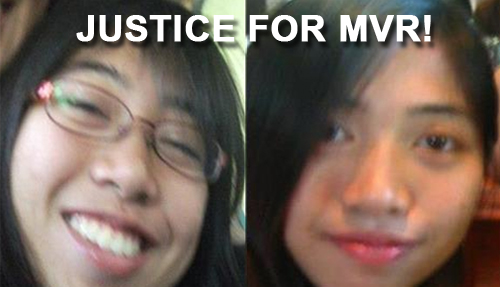 Justice for Maria Victoria Reyes