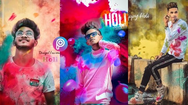 Holi photo editing cb background 2020