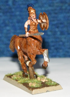 Wargames Factory amazon Centaur conversion - front view