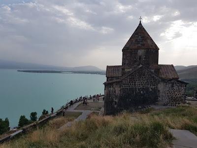 Lago Sevan, un destino popular en Armenia
