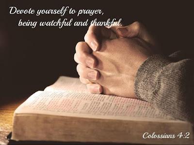 Prayer by Pastor Mark Jensen