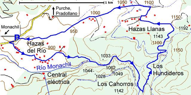 Los Cahorros Monachil Mapa.El Pedrito Se Va De Viaje Monachil Los Cahorros Los Hundideros
