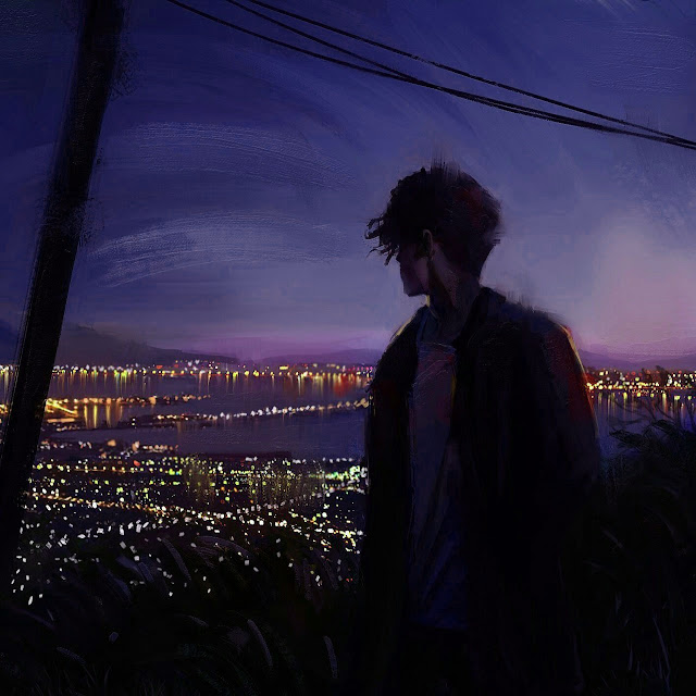 korean sad boy wallpaper