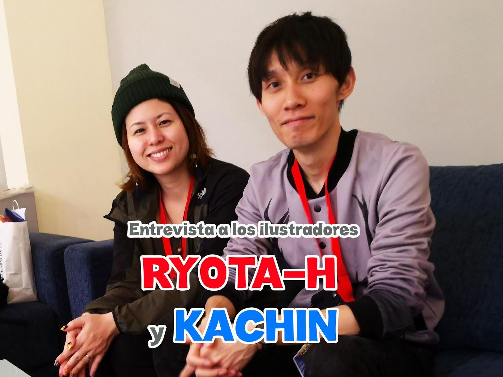 Entrevista a Kachin y Ryota-H, dibujante de La Ira de Bahamut