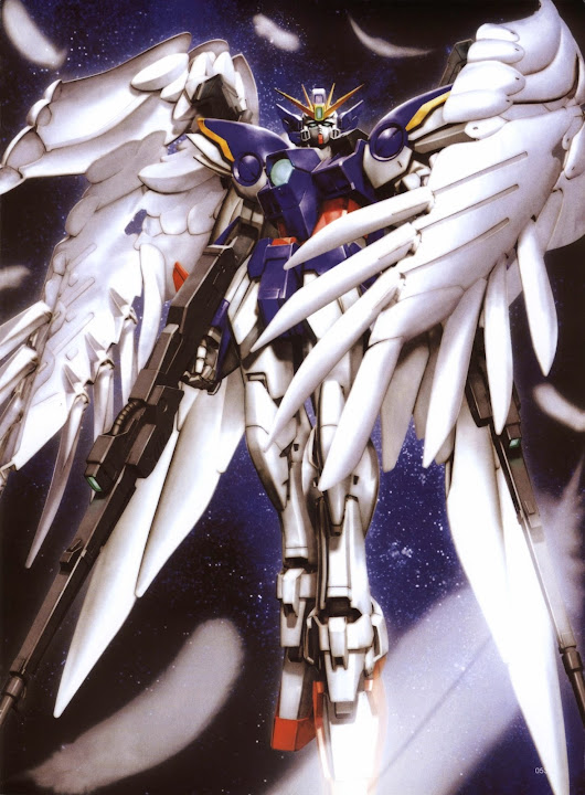 New Mobile Report Gundam Wing - Endless Waltz [Piovono Mobile Suit]