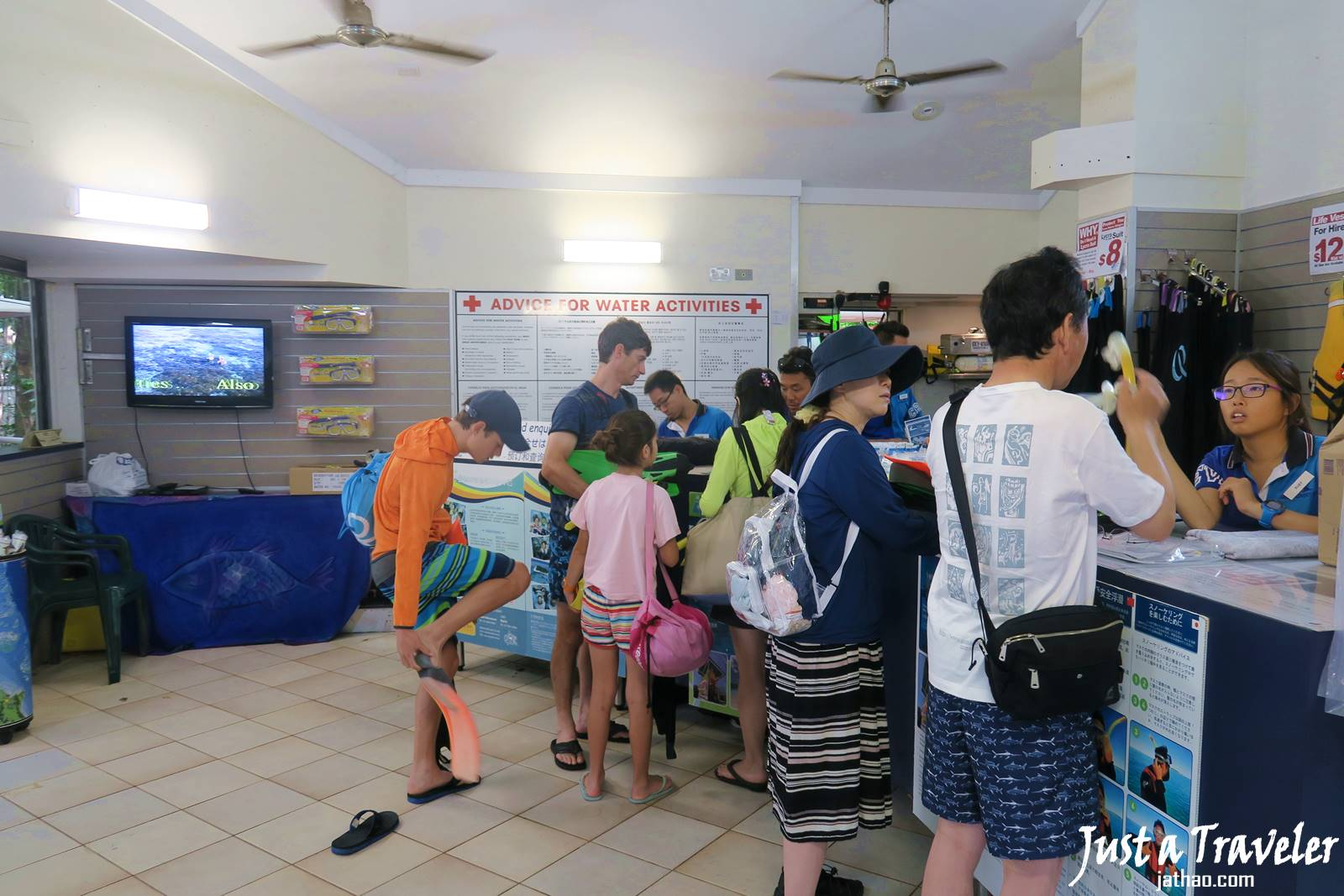 凱恩斯-大堡礁-綠島-內堡礁-浮潛-潛水-推薦-旅遊-自由行-澳洲-Carins-Great-Barrier-Reef-Green-Island-Snorkel-Diving-Travel-Australia