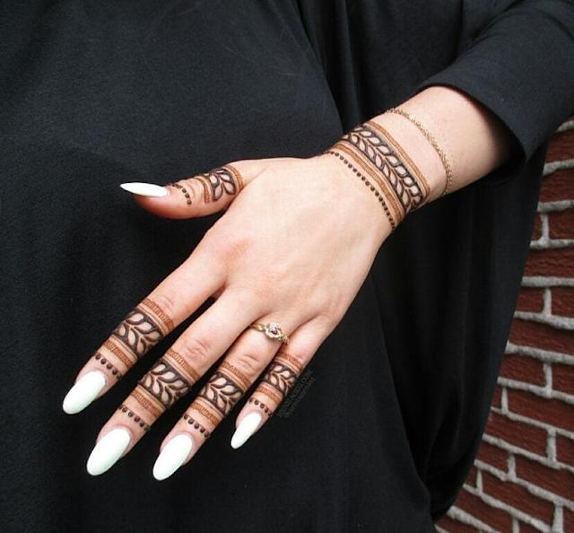 mehndi arabic designs