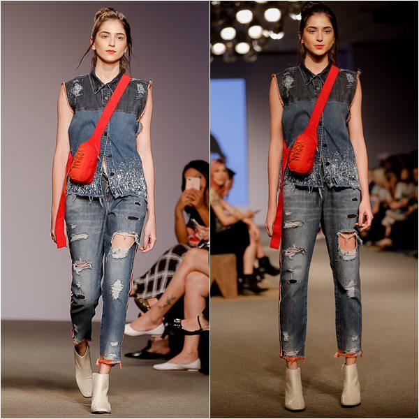 5ea66fa9af O duo BRANCO E DOURADO sofistica o look e fica muito bom em produções  minimalistas.