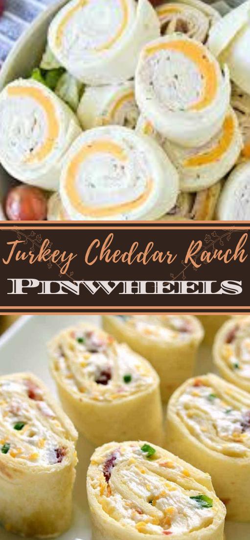 Turkey Cheddar Ranch Pinwheels #healthyfood #dietketo #breakfast #food