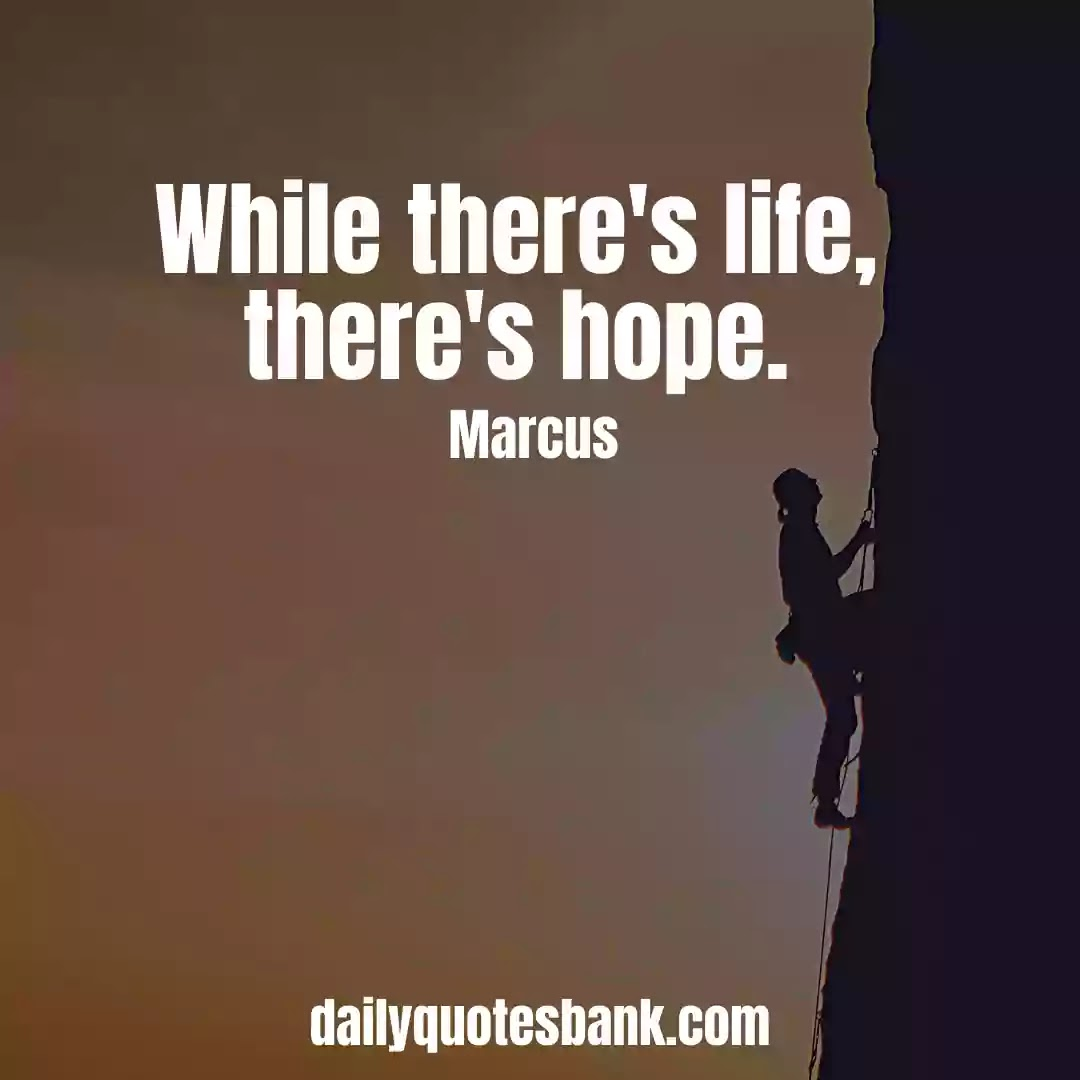 Inspirational Quotes About Hope and Life
