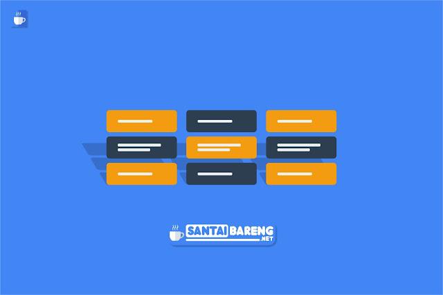 Cara Membuat Tampilan Kotak Label Menjadi 2 Kolom dan 3 Kolom di Blog