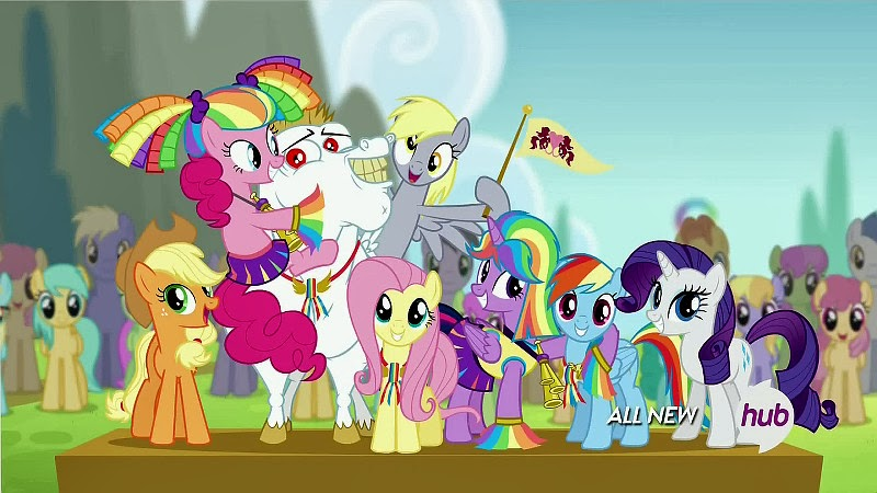 The Ponyville team and supporters