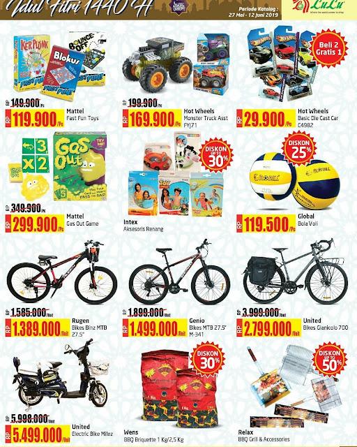 #LuluDeptStore - #Promo #Katalog 2 Minggu Periode 27 Mei - 12 Juni 2019