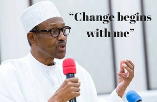 President Buhari sacked 22 top officials over budget padding