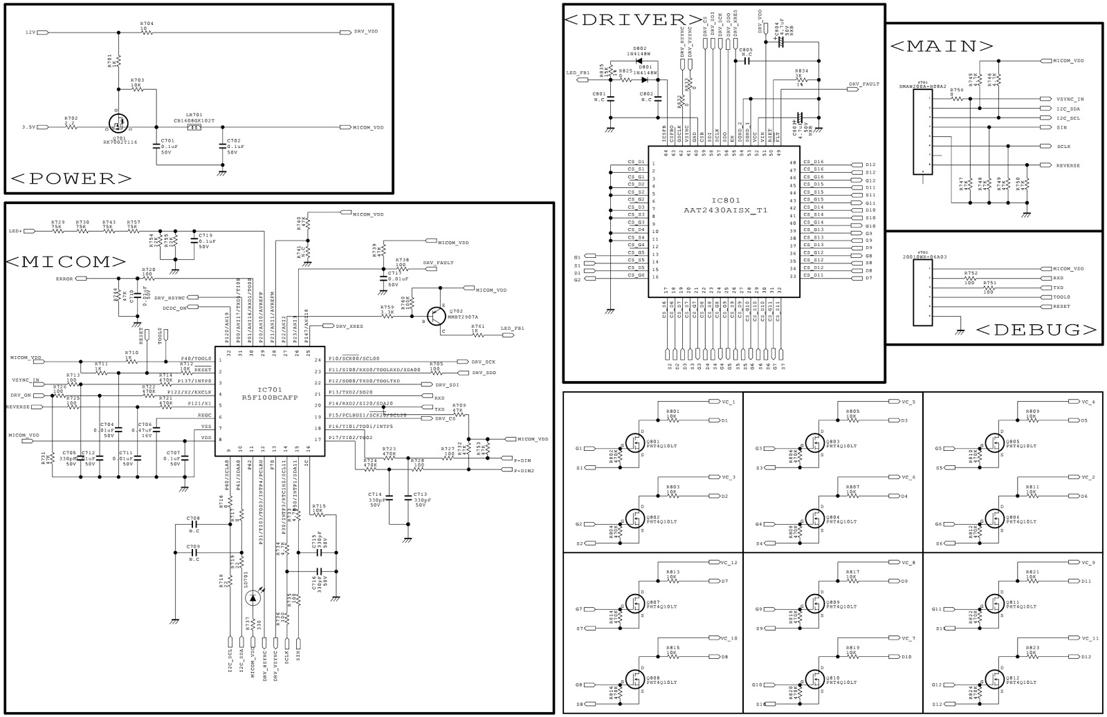 lg eay62512702 smps circuit diagram  u2013 used with lg47lm8600  u2013 lg47lm6700 led tvs
