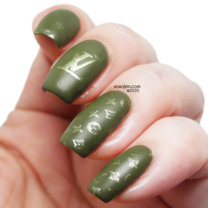 xoxoJen's swatch of KBShimmer Thyme On My Hands
