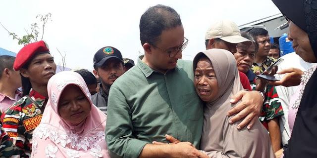Gubernur Anies: Di Bumi Indonesia Tak Boleh Lagi Ada Penggusuran!