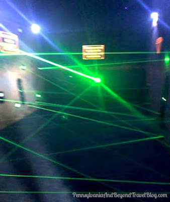 Ripley's The Vault Laser Maze Challenge in Wildwood, New Jersey