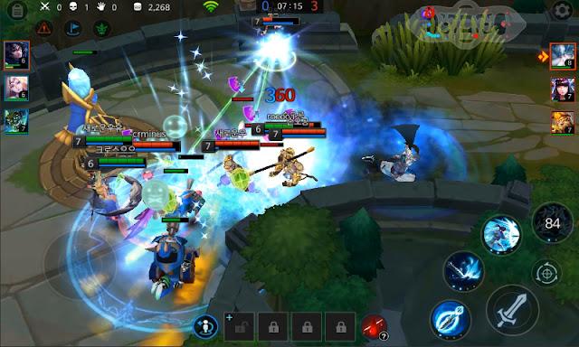 Screenshot League of Masters - Apcoid