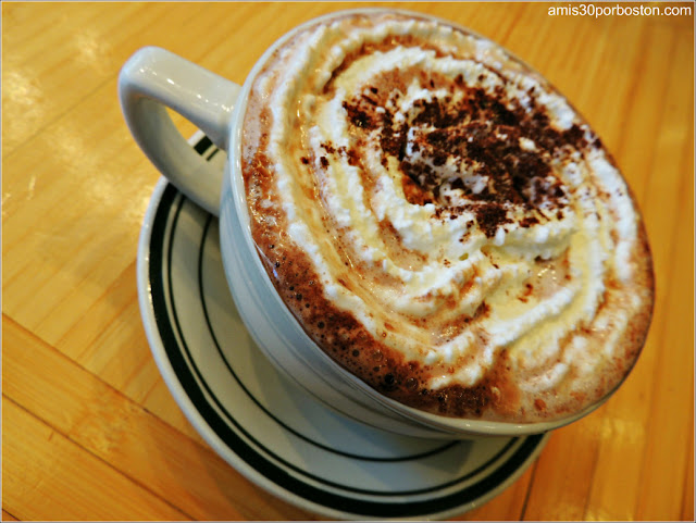 House Blend Hot Chocolate $5
