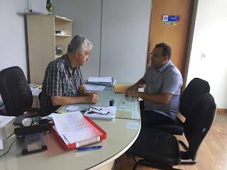 Secretário de Picuí solicita ao DER recuperação das pontes de acesso a Picuí e a terraplanagem da PB 151, que liga Picuí a Nova Floresta