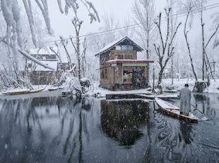 Coldest night recorded once again in 26 years, Srinagar freezes at minus 7.8°C