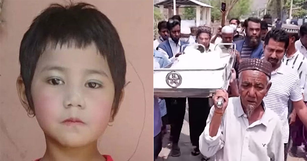 In Myanmar, the army entered the house and shot a 7-year-old girl sitting on her father's lap, and 20 children have died so far.