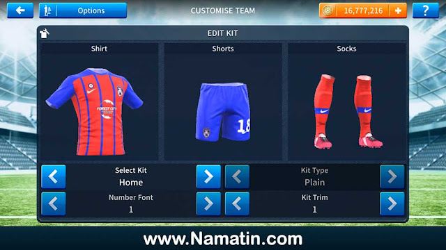 Jersey Dream League Soccer Johor Darul Tazim