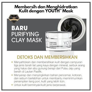Promosi Shaklee Jun 2019 Terbaru Skincare Youth Face Mask