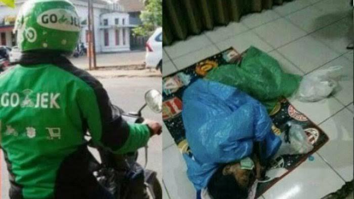 Pengemudi Ojol Diusir dari Kontrakan dan Tidur Bareng Anak Istri di Pinggir Ruko