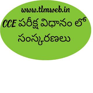 CCE Examination Reforms