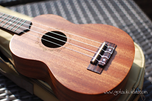 Flight NUS310 Soprano Ukulele top
