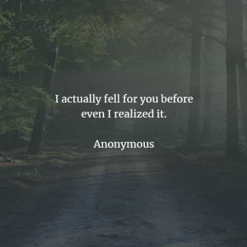 Short love quotes and sayings that'll make you romantic