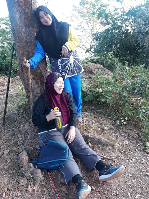 Rasa Menyesal Cabar Diri Naik Bukit Hash (H) Di Sungai Petani Kedah Tetapi Jika Tidak Turun Hingga Ke Garis Penamat.