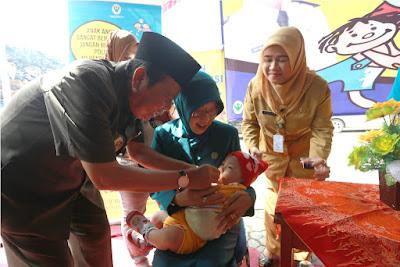 Walikota Mojokerto Canangkan Pekan PIN di Klenteng Hok Sian Kiong