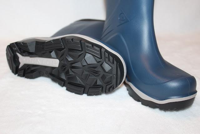 bottes bleus pour l'hiver