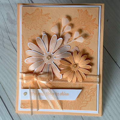 Daisy card using Stampin' Up! Daisy Garden Stamp Set