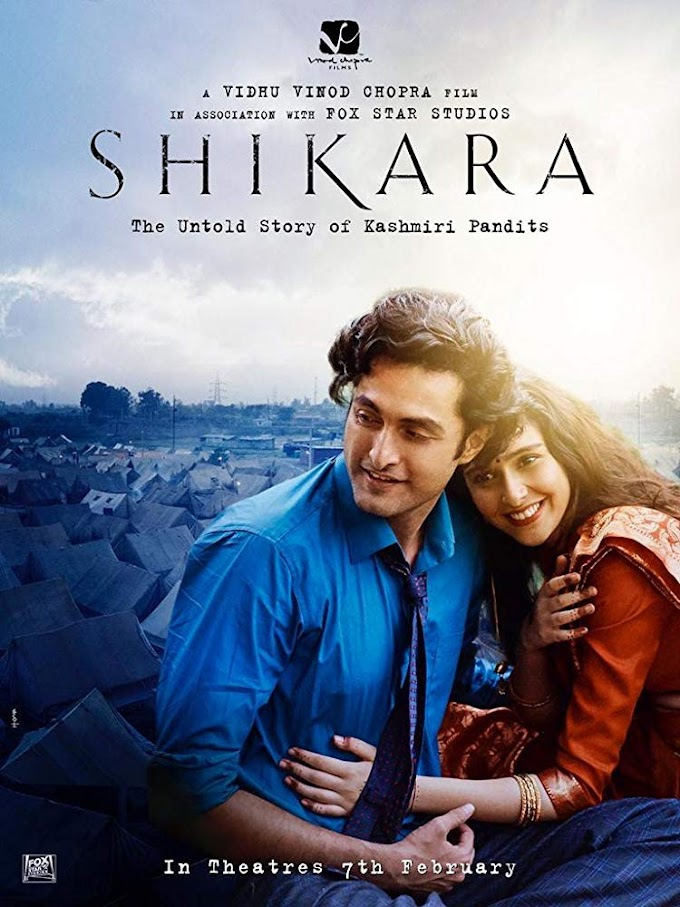 Shikara (2020) Hindi Movie 720p Pre-DVDRip (1.2GB)