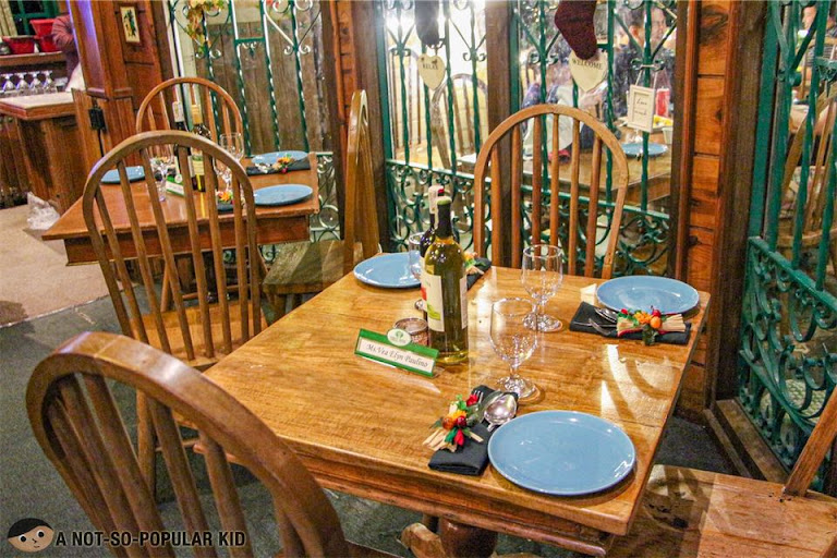 Interior of Forrest House in Baguio City