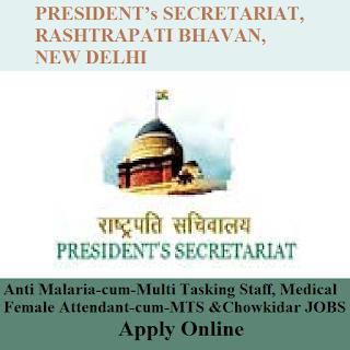 President's Secretariat, Rashtrapati Bhavan, New Delhi, MTS, Chowkidar, 12th, freejobalert, Sarkari Naukri, Latest Jobs, rashtrapati bhavan logo