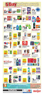 Meijer 5 Day Savings Event December 27 - 31, 2018
