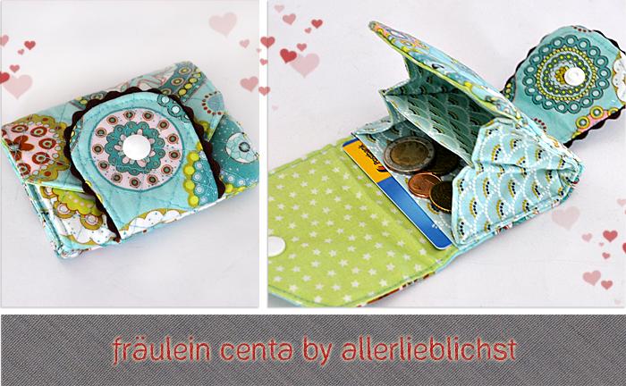 Geldbörse Fräulein Centa by Allerlieblichst