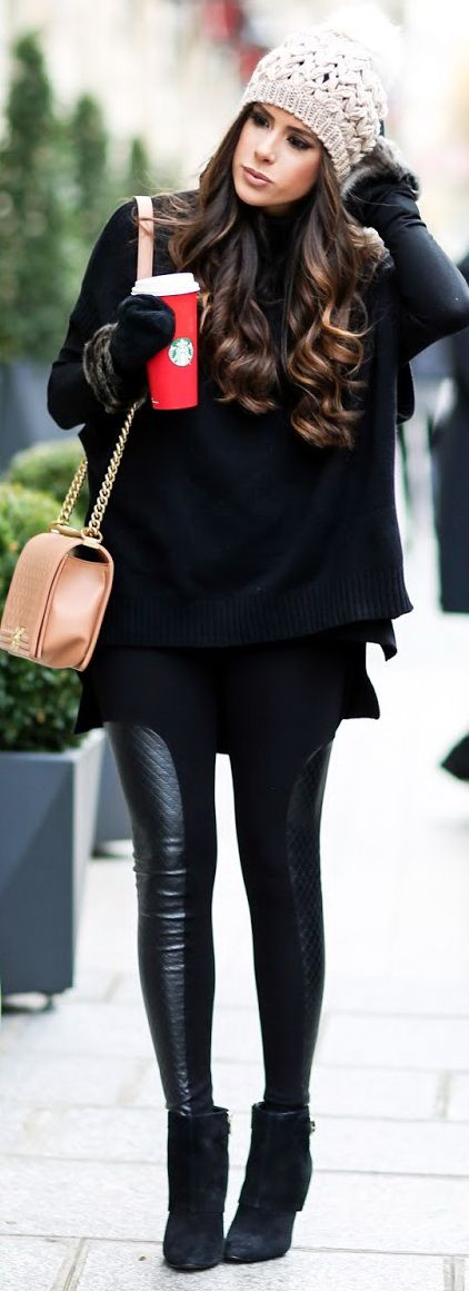 Chic Winter Street Outfits